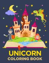 Unicorn Coloring Book: A children's coloring book for 4-8 year old kids. Great Gift for Boys & Girls