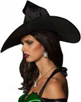 Halloween Zilverkleurige spin oorbellen