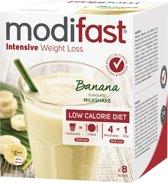 Modifast Intensive Milkshake Banaan Drinkmaaltijd  - 9 stuks