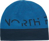 The North Face Reversible TNF Banner - Beanie - Volwassenen - Blue Aster