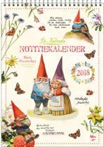 Rien Poortvliet maand notitie kalender 2018 Kabouter