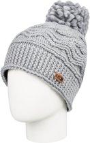 Roxy Winter Beanie Muts Dames - Warm Heather Grey - One Size