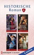 Historische Roman Bundel - Historische roman e-bundel 5 (4-in-1)