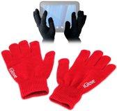 iGlove Touchscreen handschoenen (touch gloves), Rood