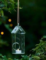 Sirius-Holger House-Windlichtjes met LED verlichting - groot - set van 2 stuks