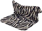 Radiator hangmat Bonfire zebra zwart/wit