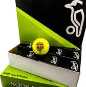 Hockeyballen Kookaburra dimple elite II geel - 12 stuks