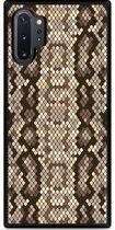 Galaxy Note 10 Plus Hardcase hoesje Snakeskin Pattern