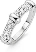 TI SENTO Milano Ring 12046ZI - maat 17,75 mm (56) - Zilver witgoudverguld