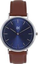 BK AMSTERDAM - Classic Blue Spui Horloge