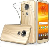 Motorola Moto E5 Plus hoesje - Soft TPU case - transparant