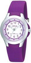 Lorus horloge  - R2313FX9 -  28 mm -  Zilverkleurig