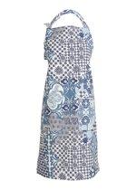 LinumSchort Mosaique Blauw 70 x 90 cm