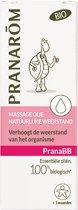 Massage olie voor baby's verhoogt de weerstand