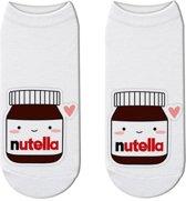 Fun sokken Nutella met gezichtje (30388)