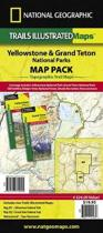 Yellowstone/grand Teton National Parks, Map Pack Bundle