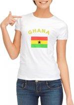 Ghana t-shirt dames Xl