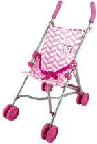 Imaginarium BABYBEBE STROLLER PINK - Buggy voor Babypop - Roze Kinderwagen
