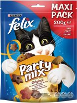 FELIX Party Mix Original Mix Kattensnack - 5 x 200 g