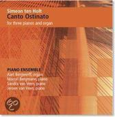 Canto Ostinato For Three Pianos And Organ