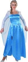 Prinses Elsa jurk   Verkleedkleding dames maat S (36)