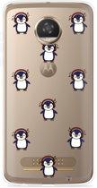 Motorola Moto Z2 Play Hoesje Chillin like a penguin