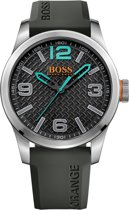 BOSS Orange HO1513377 Paris - Horloge - Siliconen - Grijs - 47 mm