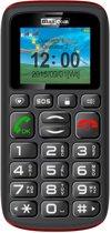 MaxCom MM428 - Zwart/Rood