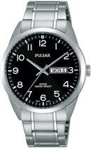 Pulsar PJ6063X1 horloge heren - zilver - edelstaal
