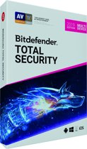 Bitdefender Total Security 2019 - 10 Apparaten - 2 Jaar - Windows / iOS / MAC / Android