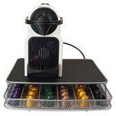 Vannons - Koffiecapsulehouder - Met Lade - Espresso Capsulehouder - RVS - 42 Capsules