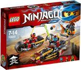 LEGO NINJAGO Ninja Motorachtervolging - 70600