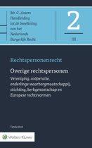 Asser-serie 2-III - Rechtspersonenrecht