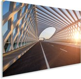 Brug in het Chinese Peking Plexiglas 120x80 cm - Foto print op Glas (Plexiglas wanddecoratie)