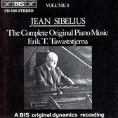 Sibelius: Complete Piano Music Vol 4 / Erik Tawaststjerna