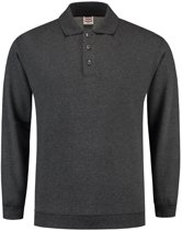 Tricorp Polosweater boord - Casual - 301005 - Antracietgrijs - maat S