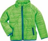 Playshoes Winterjas Kinderen - Groen/Blauw - Maat 128