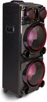 NGS Wildpunk 2 - 700W - Zwart- Bluetooth Speaker - Rijbaar -