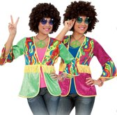 Hippie vestje dames 38 (m) Rood