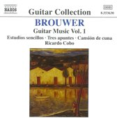 Guitar Collection - Brouwer: Guitar Music Vol 1 / Cobo