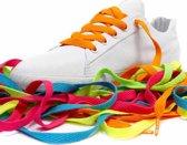 Oranje schoenveters Mr. Lacy