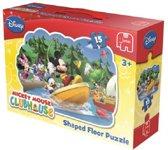 Jumbo Mickey Mouse - Gevormde Vloerpuzzel - 15 stukjes