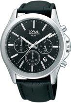 Lorus RT379AX9 - Horloge Chronograaf - 42 mm - Zwart