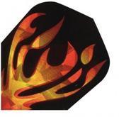 Harrows darts Flight 1620 hologram flames