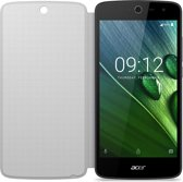 Acer flip cover - white - for Acer Liquid Zest 3G