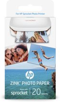 HP Zink® Photo Paper Sprocket - 20 Sheets