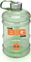 #DoYourFitness - Sportdrankfles - »TheBigOne« - waterfles / watercan van tritan materiaal - 2,2 Liter - groen