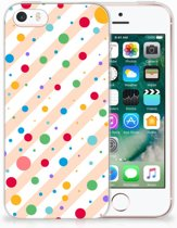 iPhone SE | 5S TPU Hoesje Design Dots