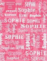 Sophie Composition Notebook Wide Ruled