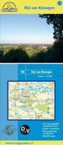 Trage Paden RN - Topografische wandelkaart Rijk van Nijmegen